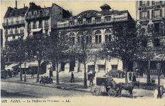 Théâtre du Gymnase - English: circa 1900