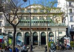 Théâtre du Gymnase - Français:   Le théâtre du Gymnase Marie-Bell à Paris en 2017
