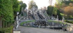 Domaine national de Saint-Cloud - English: Cascade/Fountain at Parc St. Cloud, Paris. 2012.