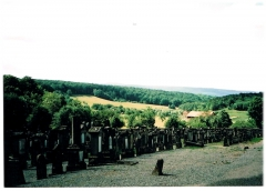 Cimetière juif - Deutsch: Jüdischer Friedhof bei Rosenwiller.