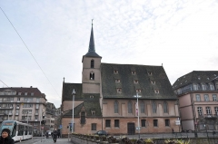 Eglise protestante Saint-Nicolas -  Église Saint-Nicolas de Strasbourg, Strasbourg, Alsace, France