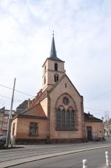 Eglise protestante Saint-Nicolas -  Église Saint-Nicolas de Strasbourg