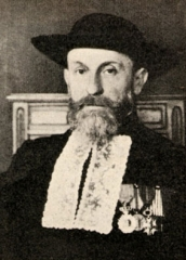 Synagogue -  Ernest Ginsburger (1876-1943); chief rabby of Belgium, then chief rabbi of Bayonne. Killed by the nazis in Auschwitz