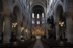 Eglise du Centre ou Saint-Clodoald - Deutsch: Katholische Pfarrkirche Saint-Clodoald in Saint-Cloud im Département Hauts-de-Seine (Île-de-France/Frankreich), Innenraum