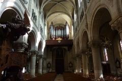 Eglise du Centre ou Saint-Clodoald - Deutsch: Blick zur Orgel in der katholischen Pfarrkirche Saint-Clodoald in Saint-Cloud