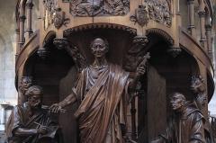 Eglise du Centre ou Saint-Clodoald - Deutsch: Katholische Pfarrkirche Saint-Clodoald in Saint-Cloud im Département Hauts-de-Seine (Île-de-France/Frankreich), Kanzel