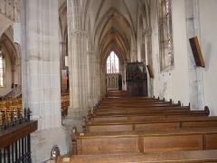 Eglise Saint-Amé - Français:   Bas-côté droit, Église Saint-Amé, Plombières-les-Bains (Vosges, Lorraine, France)
