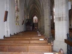 Eglise Saint-Amé - Français:   Bas-côté gauche, Église Saint-Amé, Plombières-les-Bains (Vosges, Lorraine, France)