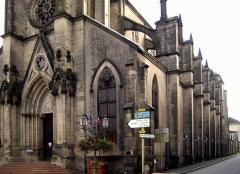 Eglise Saint-Amé - Français:   Nef d'Église Saint-Amé á Plombières-les-Bains
