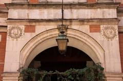 Hôtel Thomas ou Thomas de Montval - Français:   Hôtel Thomas de Montval, XXème siècle. Toulouse.