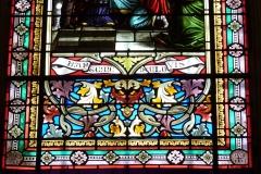 Eglise Saint-Rémy - Deutsch: Bleiglasfenster in der Kirche Saint-Rémi in Lautrec im Département Tarn in der Region Midi-Pyrénées (Frankreich)