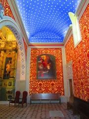 Chapelle Saint-Bernardin -  st Bernardin Antibes plafond etoile