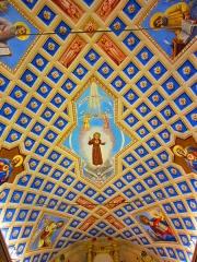 Chapelle Saint-Bernardin -  st Bernardin Antibes plafond trompe oeil