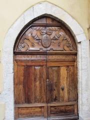 Chapelle Saint-Bernardin -  st Bernardin Antibes porte