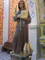 Chapelle Saint-Bernardin -  st Bernardin Antibes statue