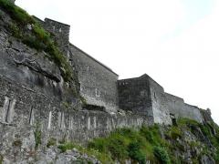 Château fort - Les remparts du château fort de Lourdes, Hautes-Pyrénées, France.