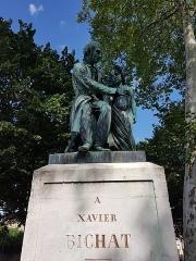 Statue de Bichat - Nederlands: Standbeeld (vooraanzicht) van Xavier Bichat in Bourg-en-Bresse