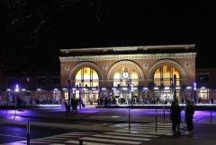 Gare - Français:   La gare de Saint-Quentin en 2018.