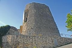 Château de Simiane - Deutsch: Chateau de Simiane-la-Rotonde, Donjon von N