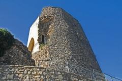 Château de Simiane - Deutsch: Chateau de Simiane-la-Rotonde, Donjon von NO