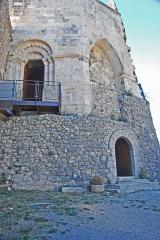 Château de Simiane - Deutsch: Chateau de Simiane-la-Rotonde, Portale der Rotunde von SO