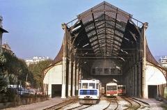 Ancienne gare du Sud - English: November 1989