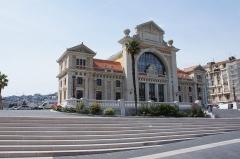 Ancienne gare du Sud - Deutsch: Der ehemalige Kopfbau des Bahnhofs der Chemins de fer de Provence in Nizza