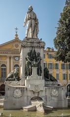 Monument à Garibaldi - English: Garibaldi monument