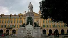 Monument à Garibaldi -  Памятник Гарибалди Ницца, Франция