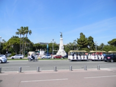 Monument du centenaire de la réunion à la France situé dans le jardin Albert Ier - English: Promenade des Anglais (Nice)