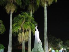 Monument du centenaire de la réunion à la France situé dans le jardin Albert Ier -  Nicea