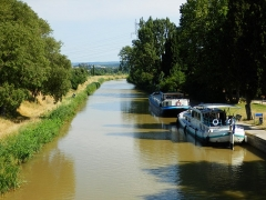 Canal du Midi - English: Canal du Midi in La Redorte, Aude, France in June 2018