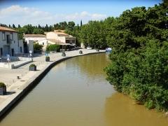Canal du Midi - English: Canal du Midi in La Redorte, Aude, France in June 2018