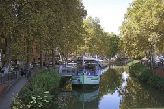 Canal du Midi - Deutsch: Canal du Midi in Toulouse