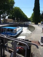 Canal du Midi -  Canal du Midi lock