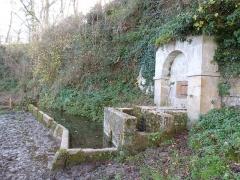 Ancienne grange monastique de Séveyrac - Français:   Grange monastique de Séveyrac: la fontaine