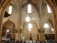 Ancien couvent des Grands-Augustins - Arles (Bouches-du-Rhône, France), église St Césaire dans le quartier de la Roquette, ancienne église conventuelle des Grands-Augustins, commencée en 1258, remaniée à plusieurs reprises au cours des siècles, seule paroisse de ce quartier et troisième église de la ville ancienne encore utilisée.