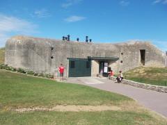 Batterie d'artillerie de Merville -  una casamatta