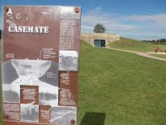 Batterie d'artillerie de Merville -  una casamatta nella batteria