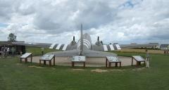 Batterie d'artillerie de Merville - Français:   The SNAFU Special à la batterie de Merville.