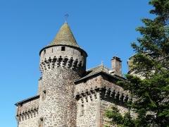 Château des Ternes - Français:   Le château des Ternes, Cantal, France.
