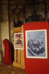Eglise Saint-Martial - Français:   lors du 44e festival international de la Bande Dessinée.
