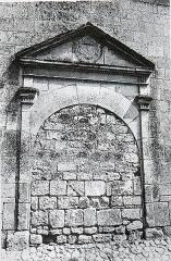 Ancien temple protestant, aujourd'hui église catholique Saint-Martin - Français:   de la ville de Pons.