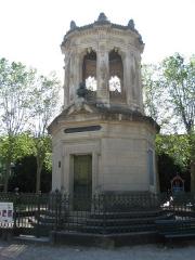 Réservoir Darcy et jardin Darcy, y compris ses clôtures et la fontaine de la Jeunesse - Place et Parc Darcy de Dijon