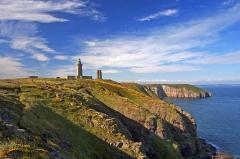 Phares du Cap Fréhel -  The lighthouse on the multi coloured cliffs of Cap Frehel in Côtes d'Armor, France