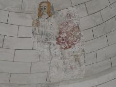 Eglise Saint-Méard - Français:   Fresque sur la coupole de l\'église Saint-Méard, Saint-Méard-de-Drône, Dordogne, France.