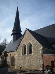 Eglise paroissiale Saint-Martin - Français:   Église Saint-Martin de Bézu-la-Forêt