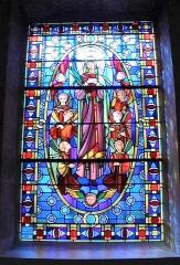 Ateliers de fabrication de vitraux, dits Ateliers Lorin - GAILLON - Église Saint-Ouen - vitrail de Charles Lorin - 1937, Eure (France).