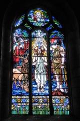 Ateliers de fabrication de vitraux, dits Ateliers Lorin - Français:   Vitrail de l\'église Saint-Georges signé \