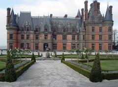 Ancien pavillon de chasse de Moniven - Deutsch:   Saint-Goazec (Bretagne, Finistère) Château de Trévarez, façade sud.